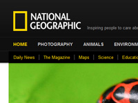 Web del National Geographic
