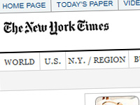 Web del New York Times