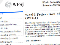 WFSJ: World Federation of Science Journalist
